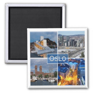 NO * Norway - Oslo Magnet