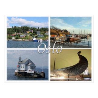 NO Norway - Oslo - Postcard