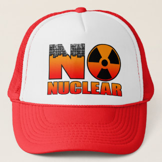NO NUCLEAR 4 TRUCKER HAT