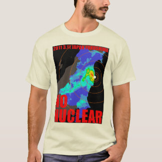 NO NUCLEAR MAP T-Shirt