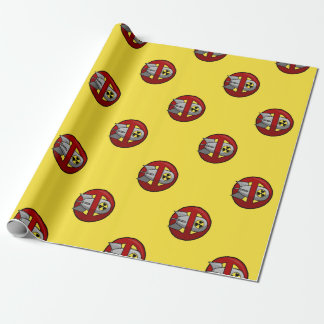 No nuclear weapons wrapping paper