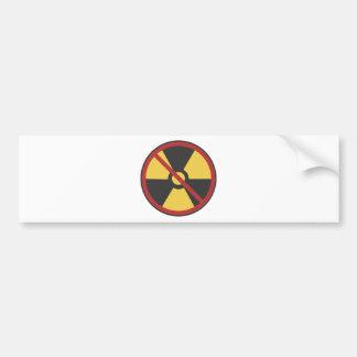 No Nuke Bumper Sticker