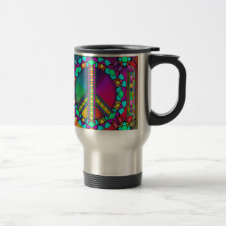 no nuke zone colored travel mug