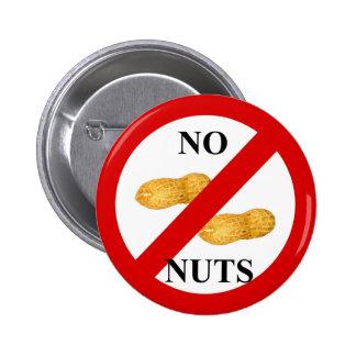 No nuts 2 inch round button