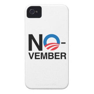 NO OBAMA IN NOVEMBER iPhone 4 Case-Mate CASE