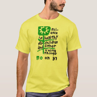 No on 37 T-Shirt