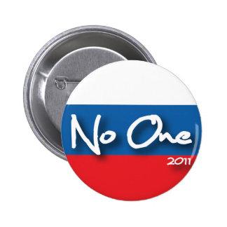 No One 2 Inch Round Button