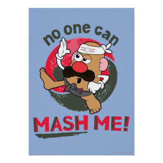 No One Can Mash Me! Poster