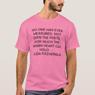 no one has measured T-Shirt