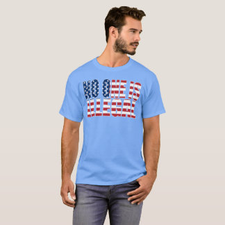 """""""No One is Illegal"""" dark T-Shirt"""
