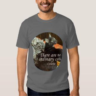 No Ordinary Cats Tshirts