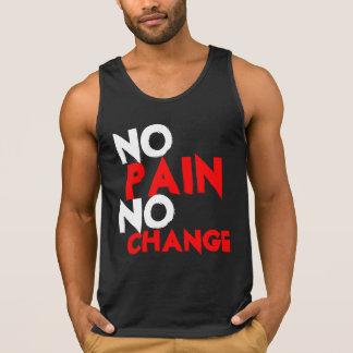 No pain No change