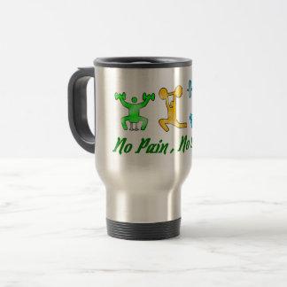 No Pain no gain .hit Gym mug