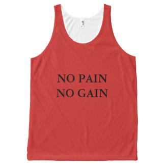 No Pain No Gain workout t-shirt