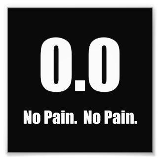 No Pain Photo Print