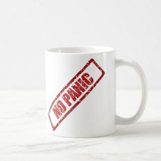 No panic stamp coffee mug