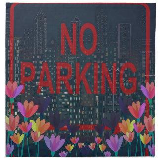 No parking napkin