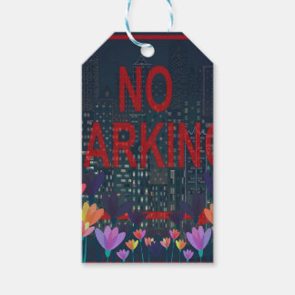 No parking pack of gift tags