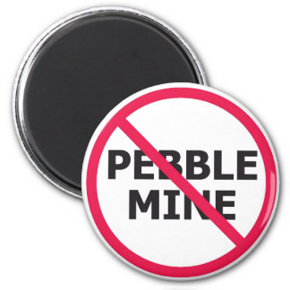 No Pebble Magnet