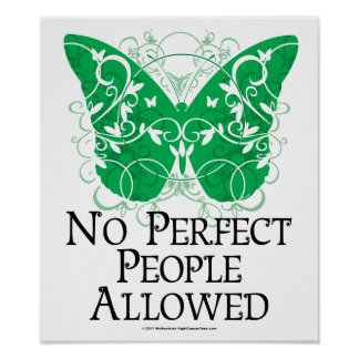 No Perfect People Allowed Poster