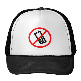 No phones Allowed, Turn Off your Cellphone Trucker Hat