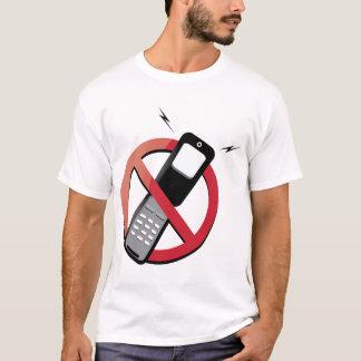 no phones T-Shirt