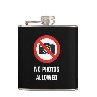 No Photos Allowed Flask