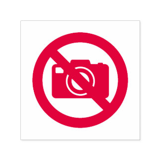No Photos Allowed Self-inking Stamp