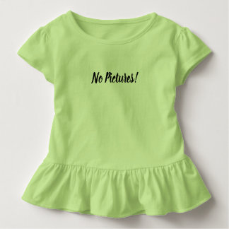 No Pictures tshirt