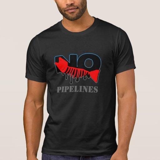 No Pipelines Dark T-Shirt