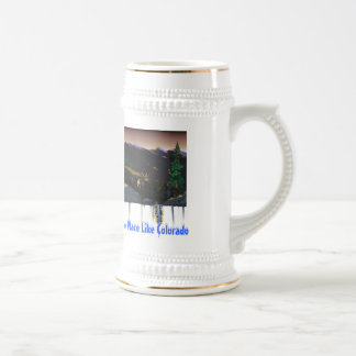 No Place Like Colorado Beer Stein