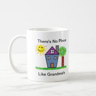 No Place Like Grandma's Mug