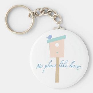 No Place Like Home Key Chains