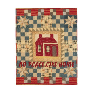 No Place Like Home Wood Wall Plaque Wood Prints