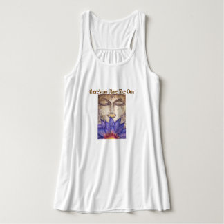No Place Like Om Buddha Flowy Tank