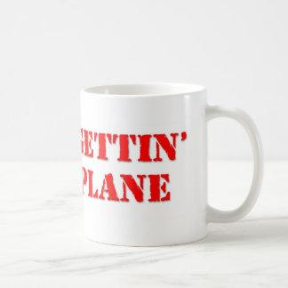 No Plane Classic White Coffee Mug