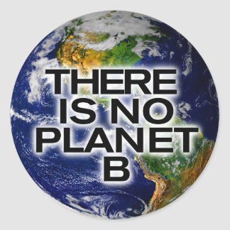 No Planet B Environmentally Aware Stickers