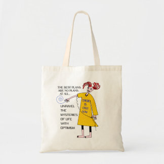 NO PLANS TOTE BAGS