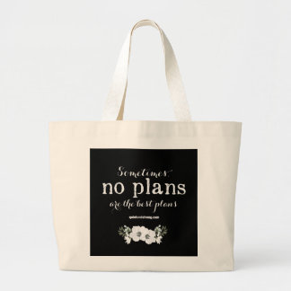 No plans - Feminine - Dark - Tote Bag