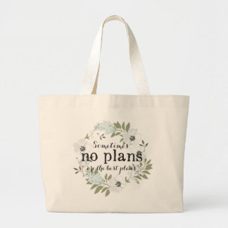 No plans - Feminine - Light - Tote Bag