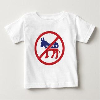 No Politics Democrat Donkey Baby T-Shirt