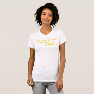 No POP Ever T-Shirt