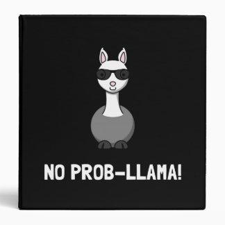 No Prob Llama 3 Ring Binder