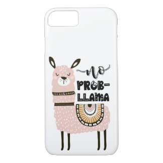 No Prob-Llama Cute Funny Case-Mate iPhone Case