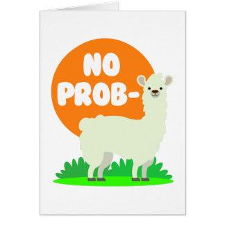 No Prob-Llama - The No Problem Llama - Funny Card