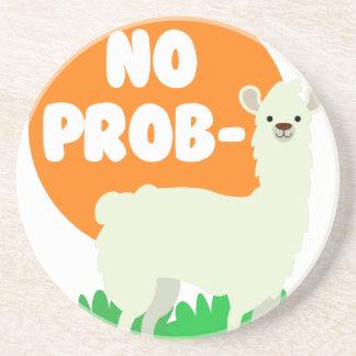 No Prob-Llama - The No Problem Llama - Funny Coaster