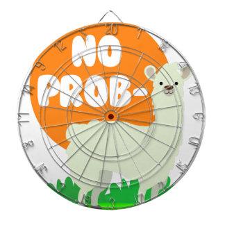 No Prob-Llama - The No Problem Llama - Funny Dartboard