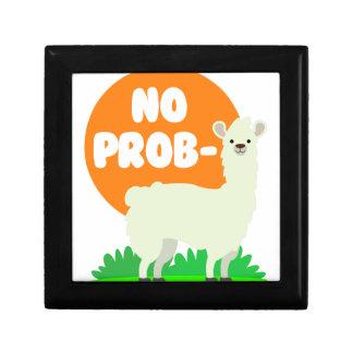 No Prob-Llama - The No Problem Llama - Funny Gift Box