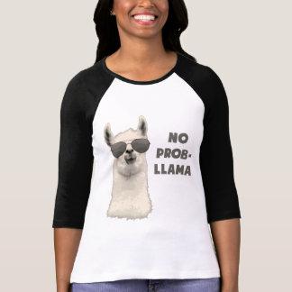 No Problem Llama T Shirts