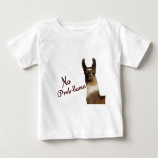 No Probllama Baby T-Shirt